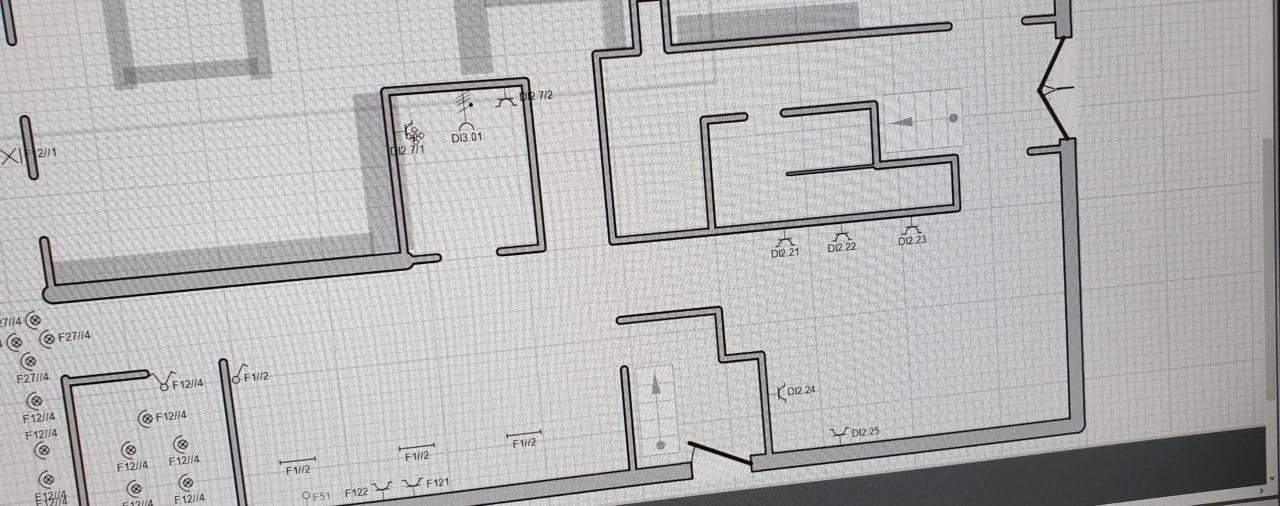 Bestaande of onvolledige (klad)schema's overtekenen/digitaliseren/as-built